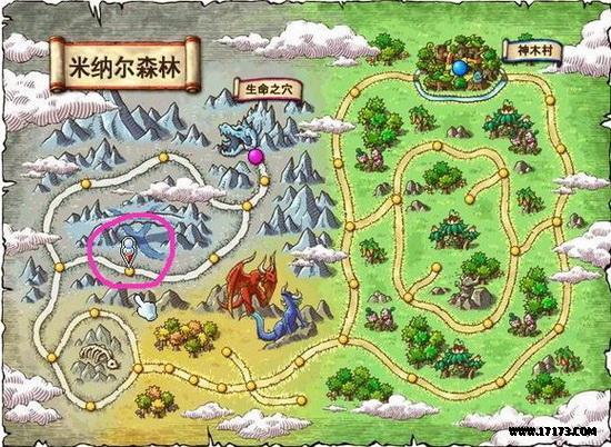 冒险岛地图功能讲解