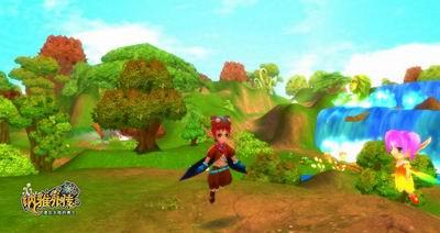 童话王国里的魔法森林,传奇故事里的风车城堡.