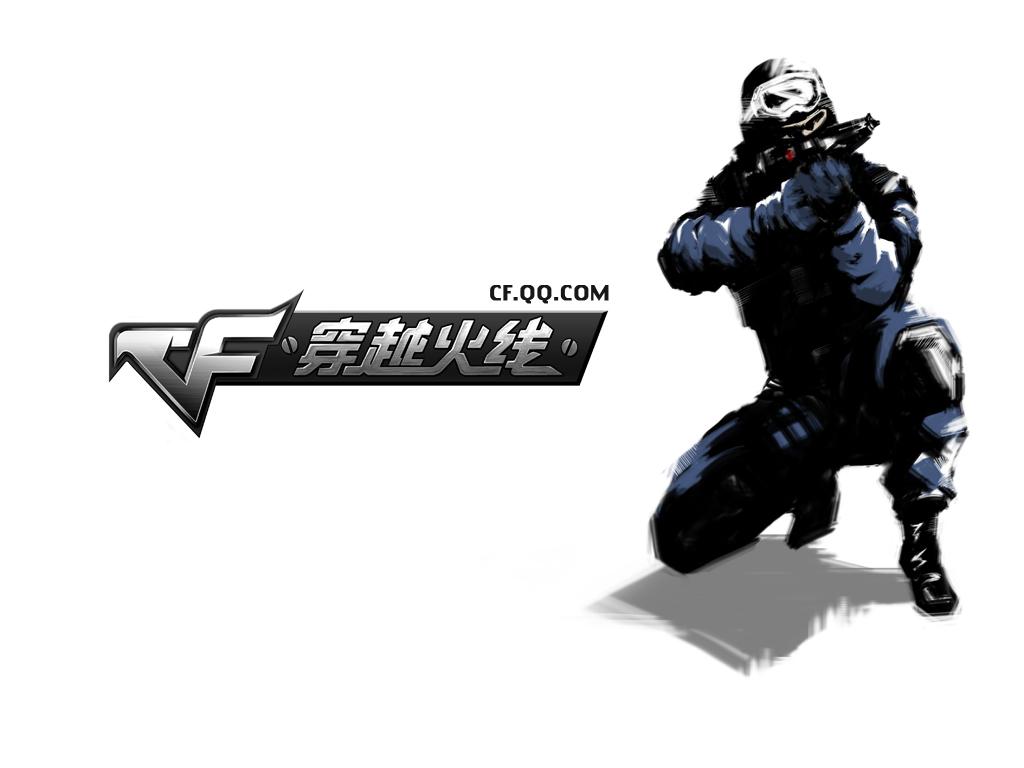 cf穿越火线女角色灵狐者女人物   腾讯代理第一人称射击游戏高清图片