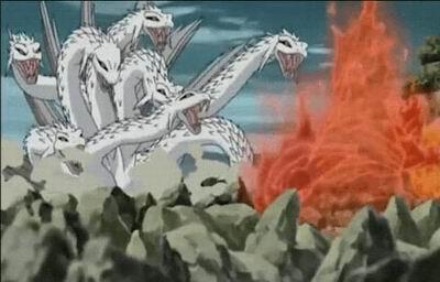 《火影忍者》大蛇丸的召唤兽图片