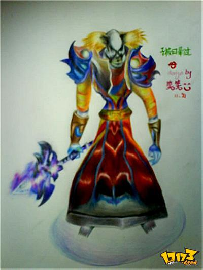 魔兽世界 - 漫画壁纸-手绘哥哥的法师